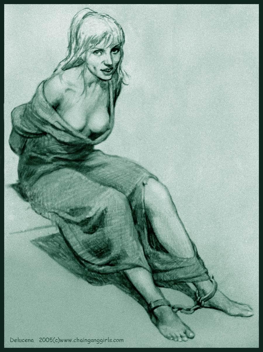 Пытки девушек в кандалах 3 фотография