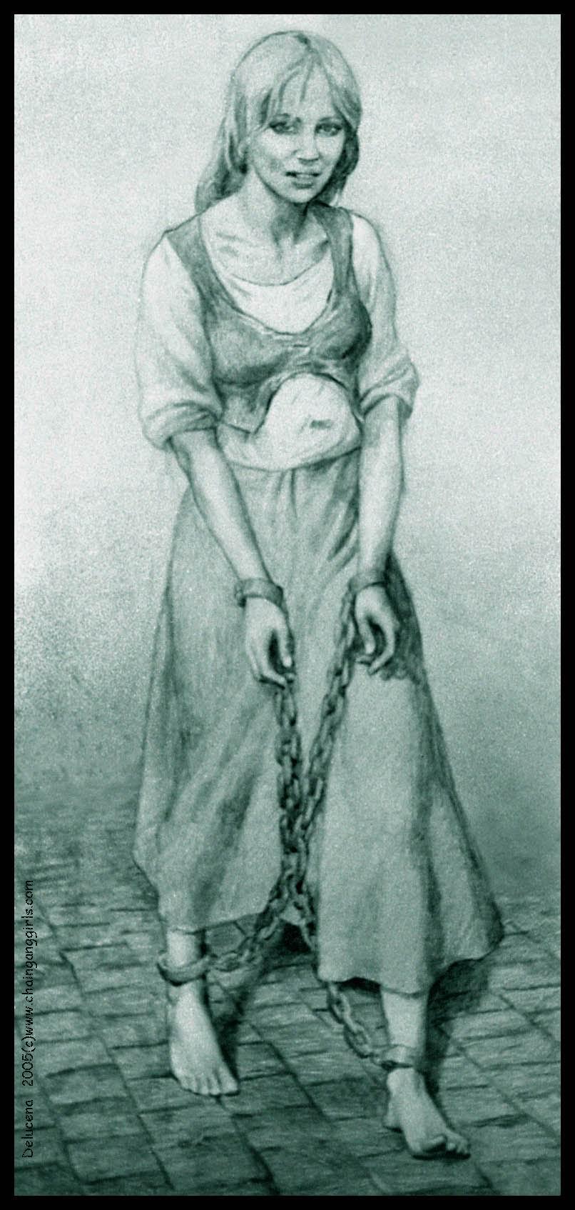 Пытки девушек в кандалах 5 фотография