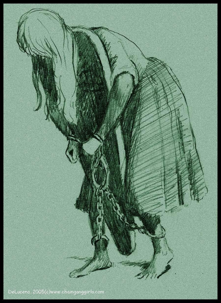 Пытки девушек в кандалах 7 фотография
