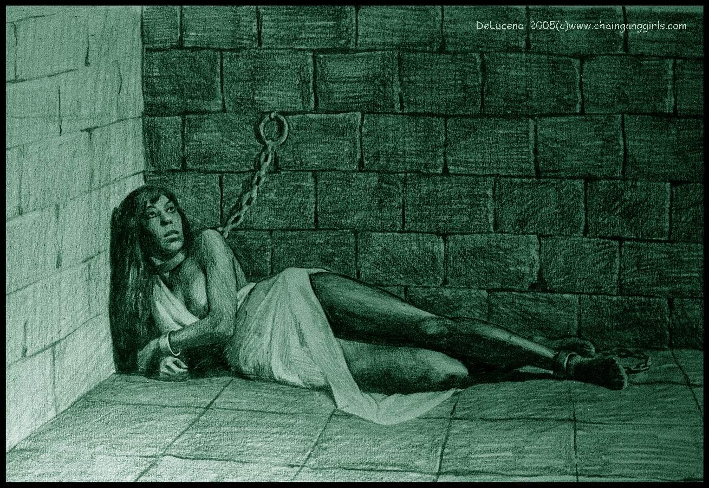 Пытки девушек в кандалах 4 фотография